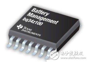 图为bq34z110 监测计芯片